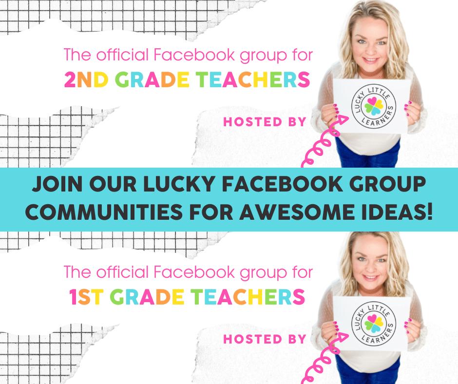 lucky 1st and 2nd grade teacher facebook groups