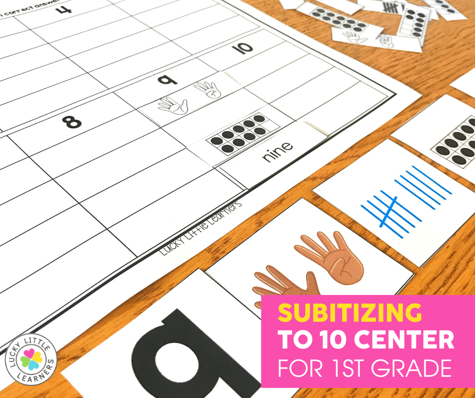 Practicing counting to 100 is fun with this Lucky Little Learners 1st grade August math centers activity using mystery numbers and hundreds charts.