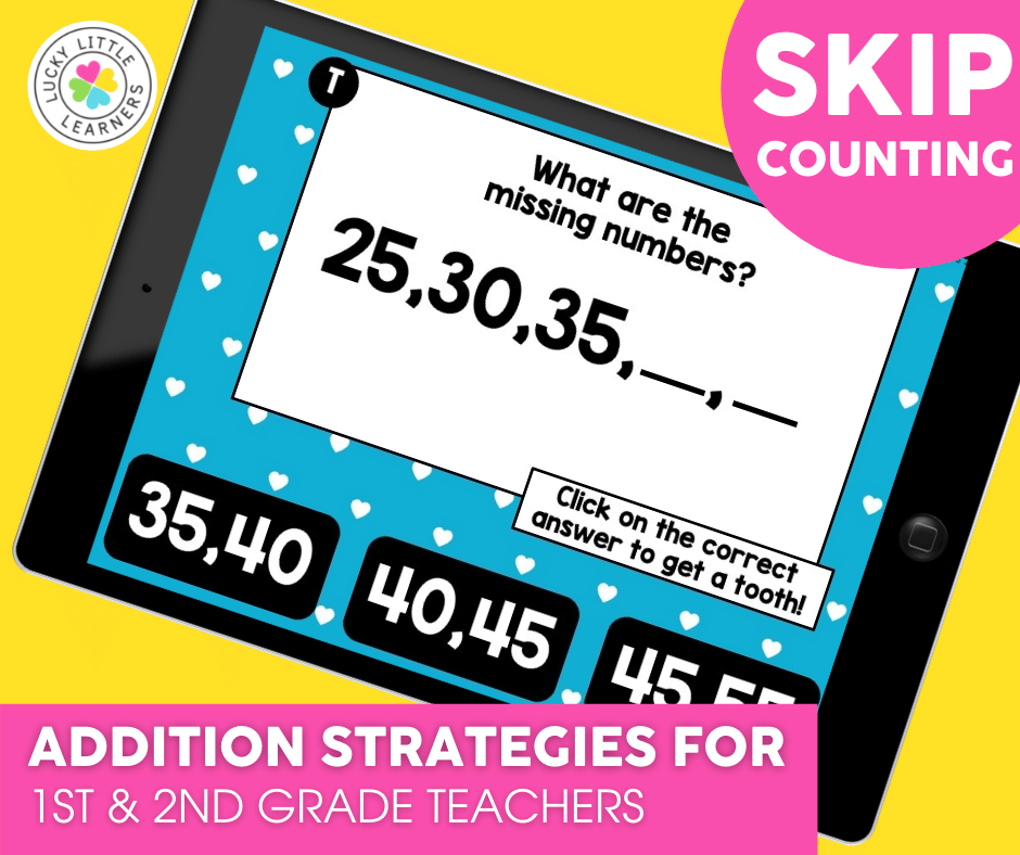 skip counting addition strategy