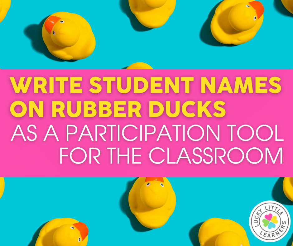 rubber duck participation tool