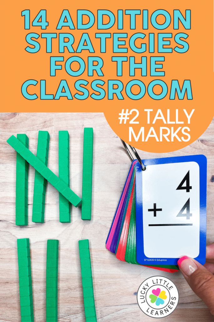 tally marks addition strategy