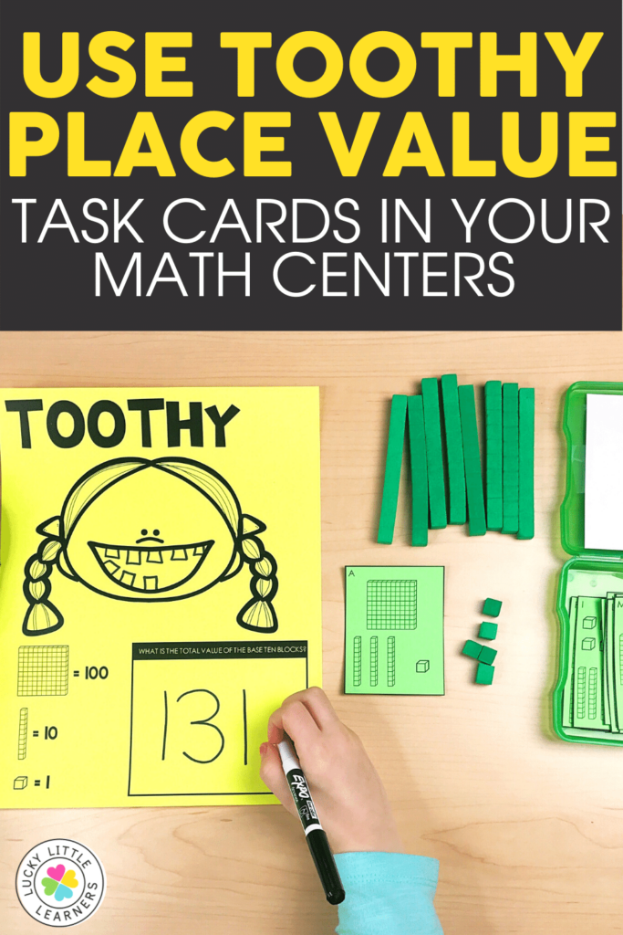 math toothy place value activity