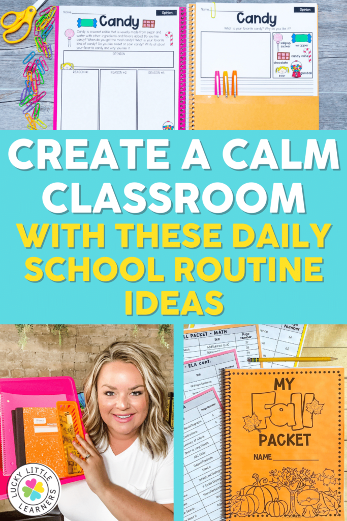 daily school routine ideas