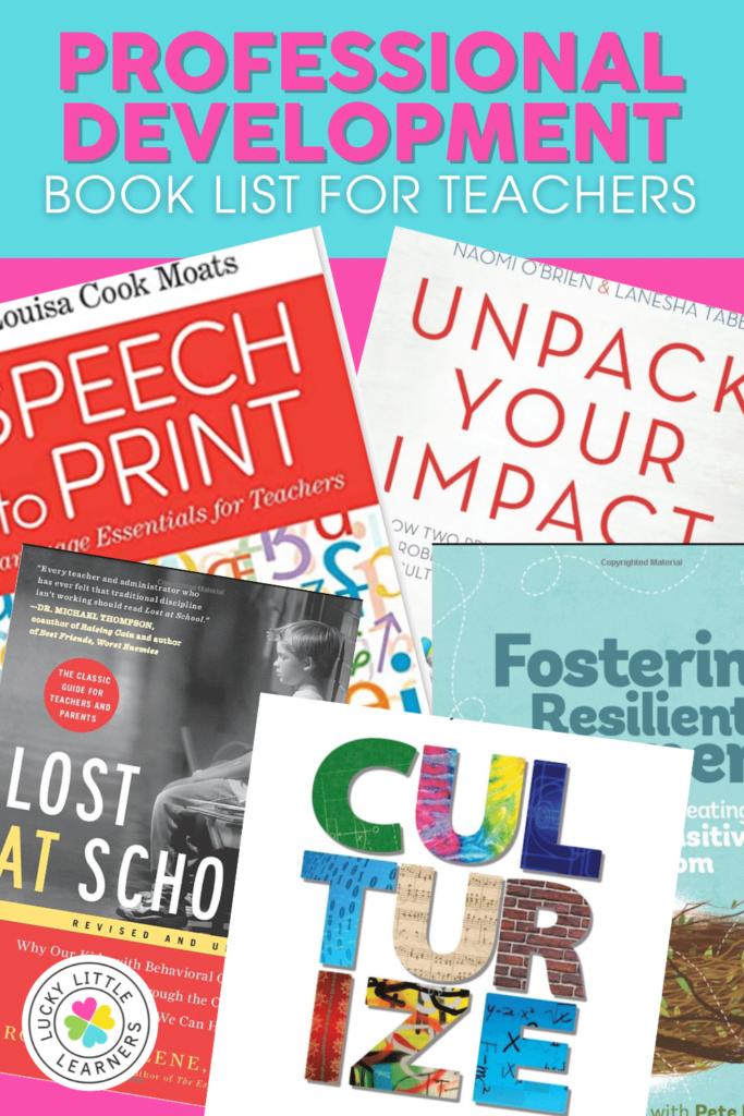 professional development book recommendations for teachers