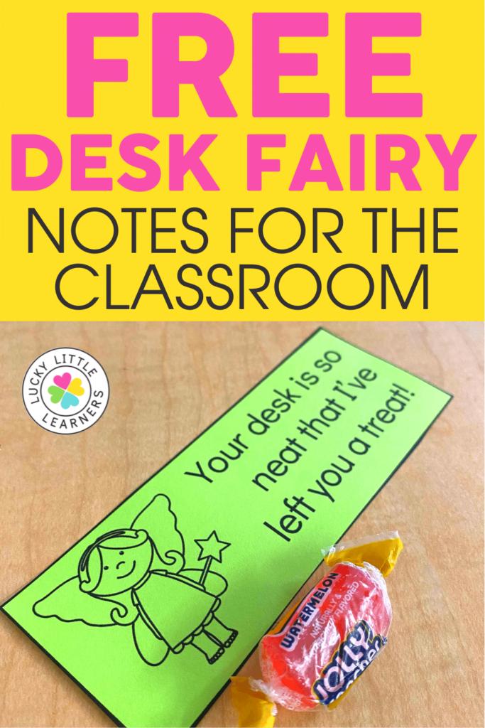 free desk fairy notes