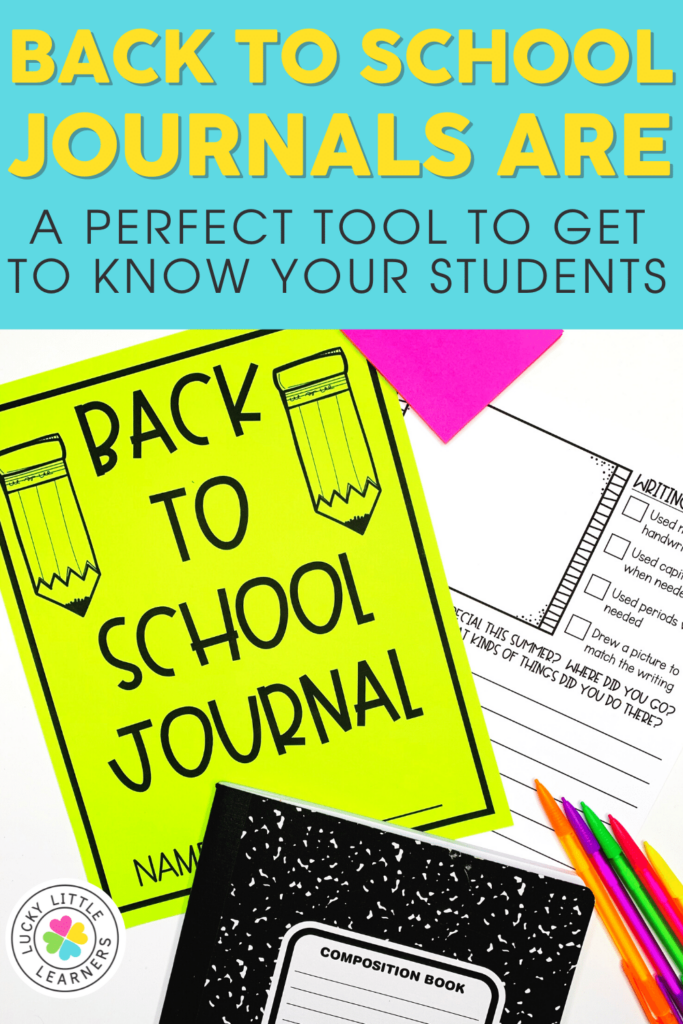 journal prompts for back to school