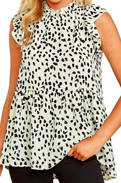 babydoll shirt blouse tunic top