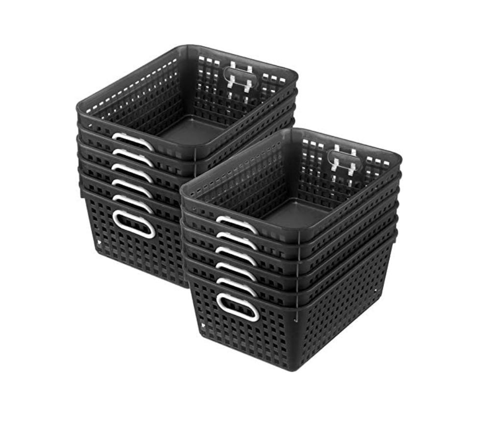 multi-purpose storage baskets
