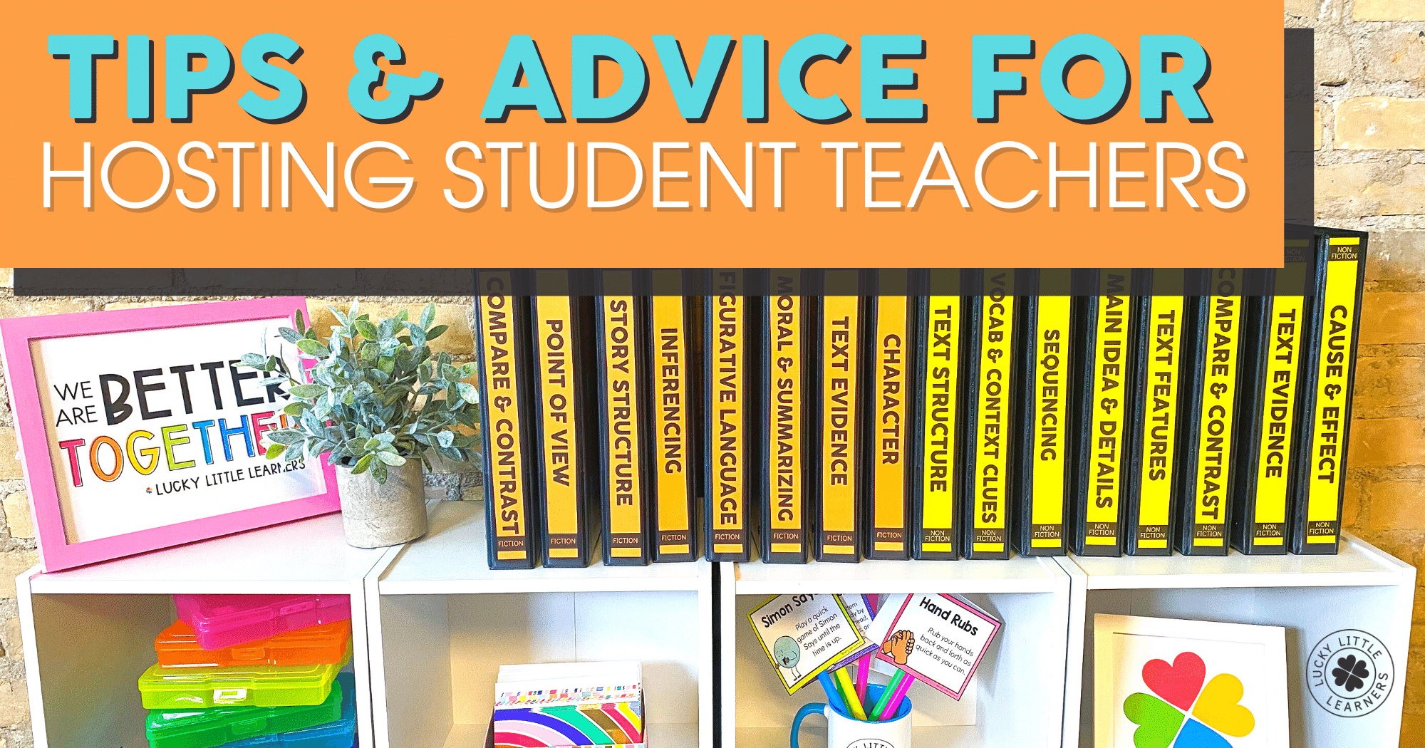 tips and advice for hosting student teachers