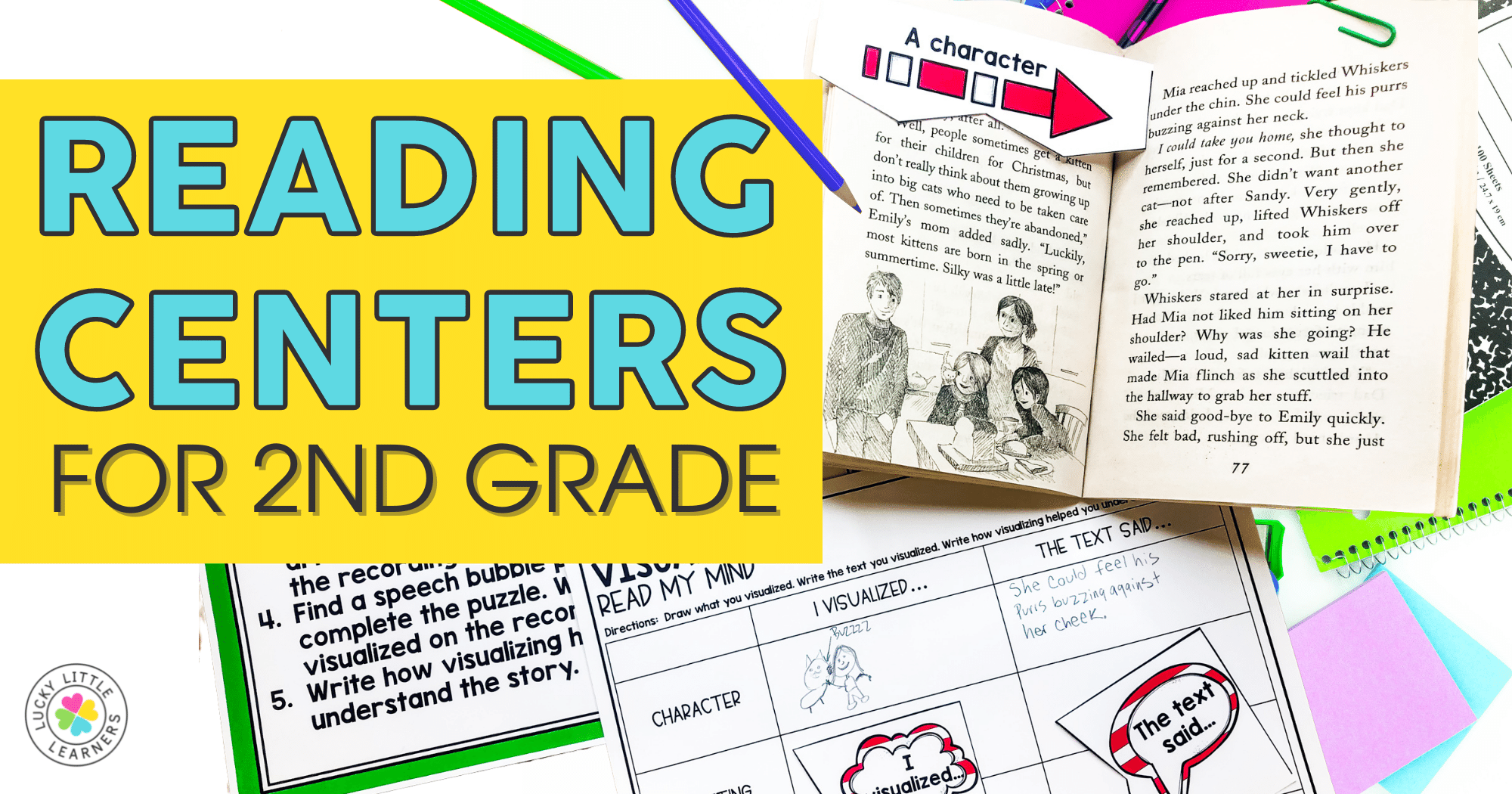 Reading Centers for 2nd Grade