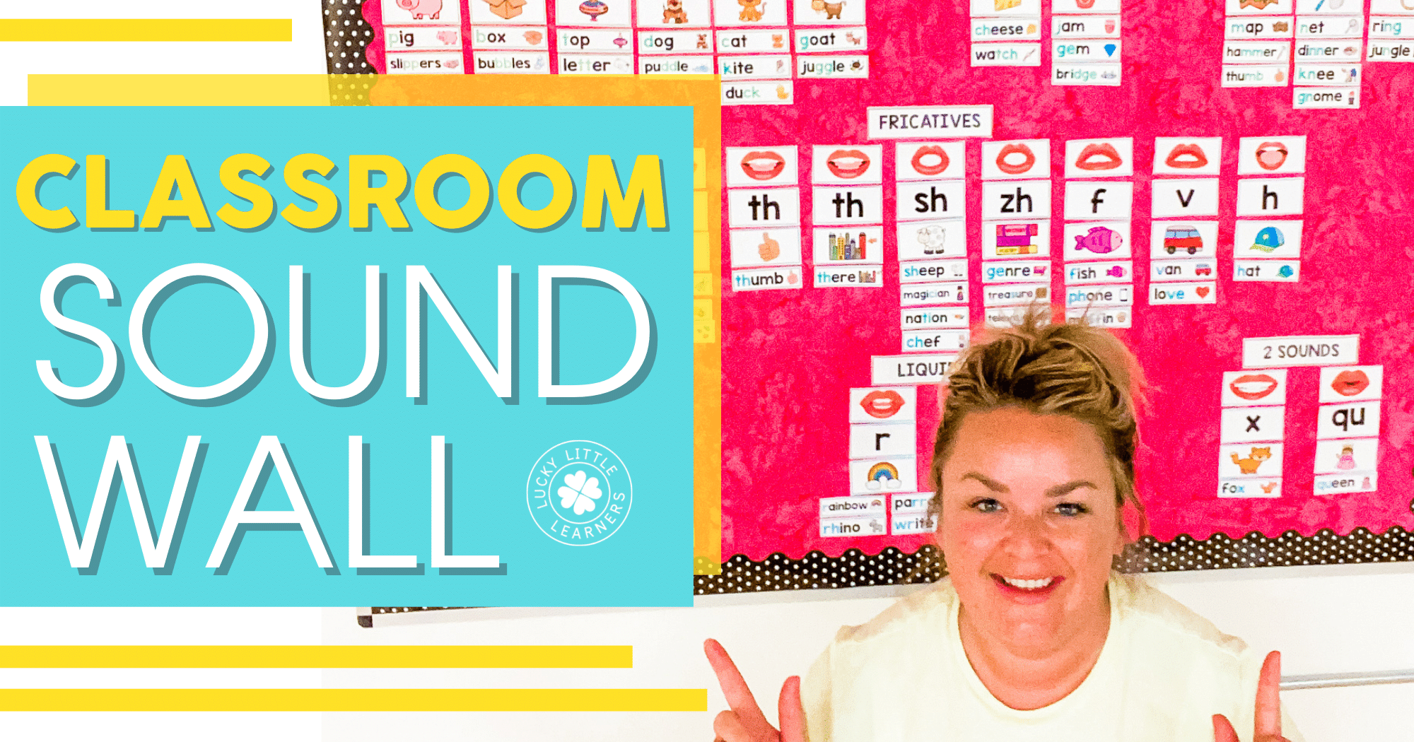 how to set up and use a sound wall in the classroom