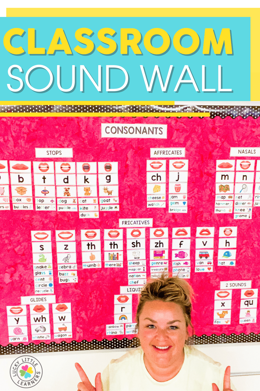 how to set up a classroom sound wall