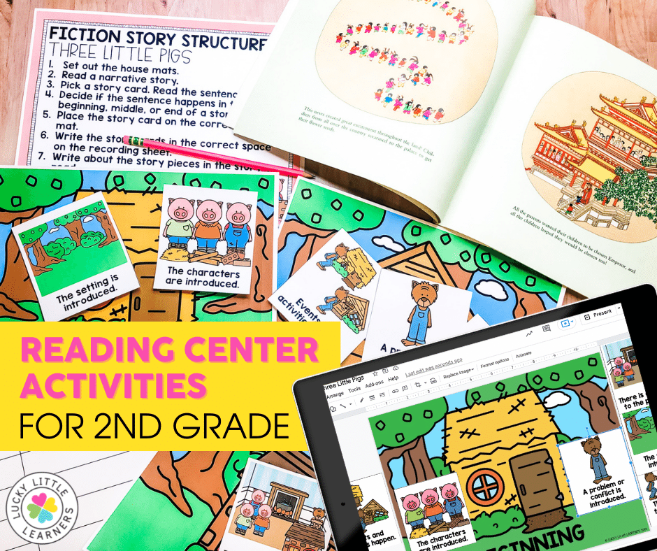Reading Center Activities for 2nd grade