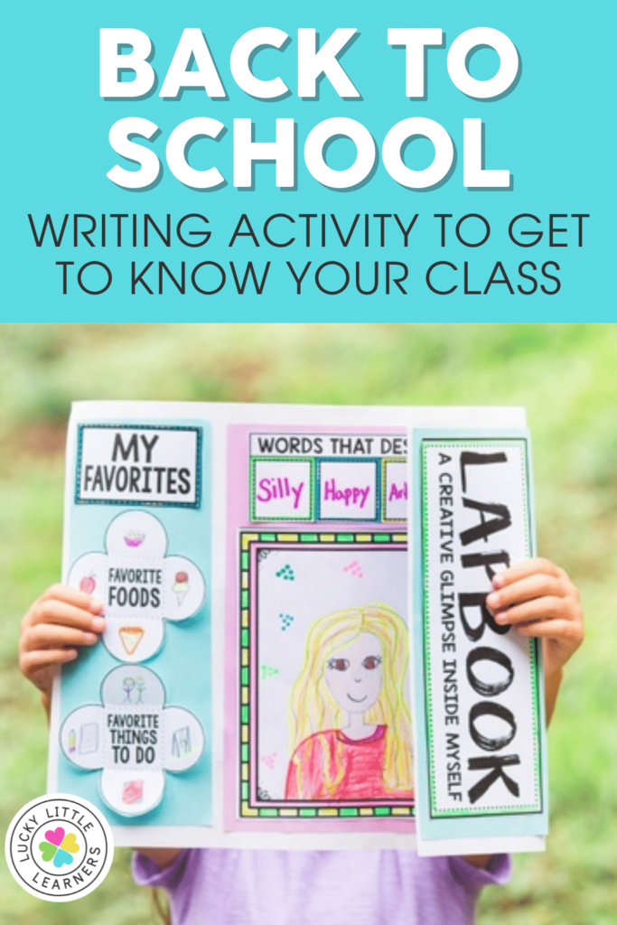 back to school writing project for 2nd graders