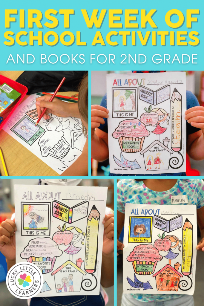 activities and read alouds for the first week of 2nd grade