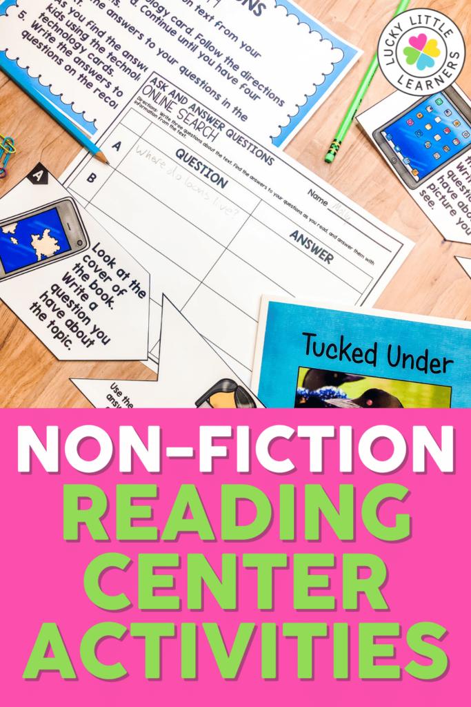 Nonfiction Reading Center Activities