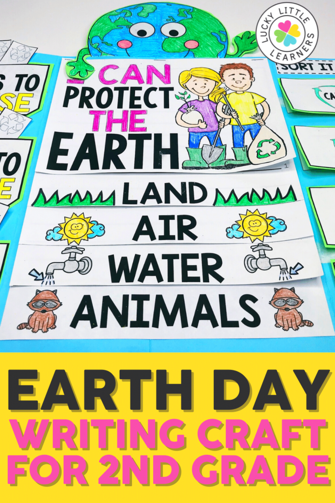 earth day writing project for 2nd graders