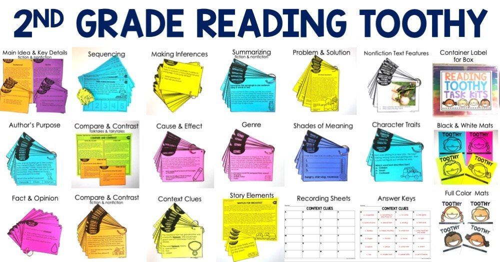 2nd Grade Reading Toothy