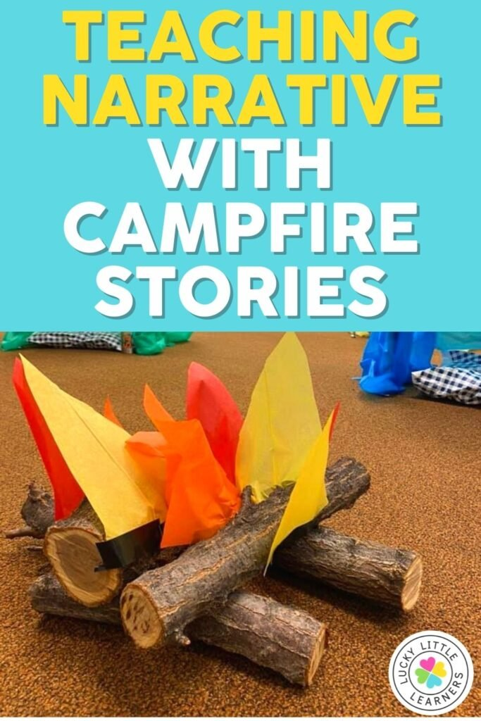 teaching narrative writing elements with campfire stories
