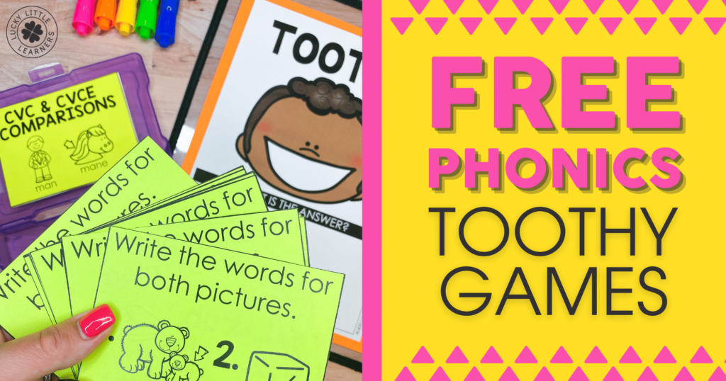 free phonics toothy games