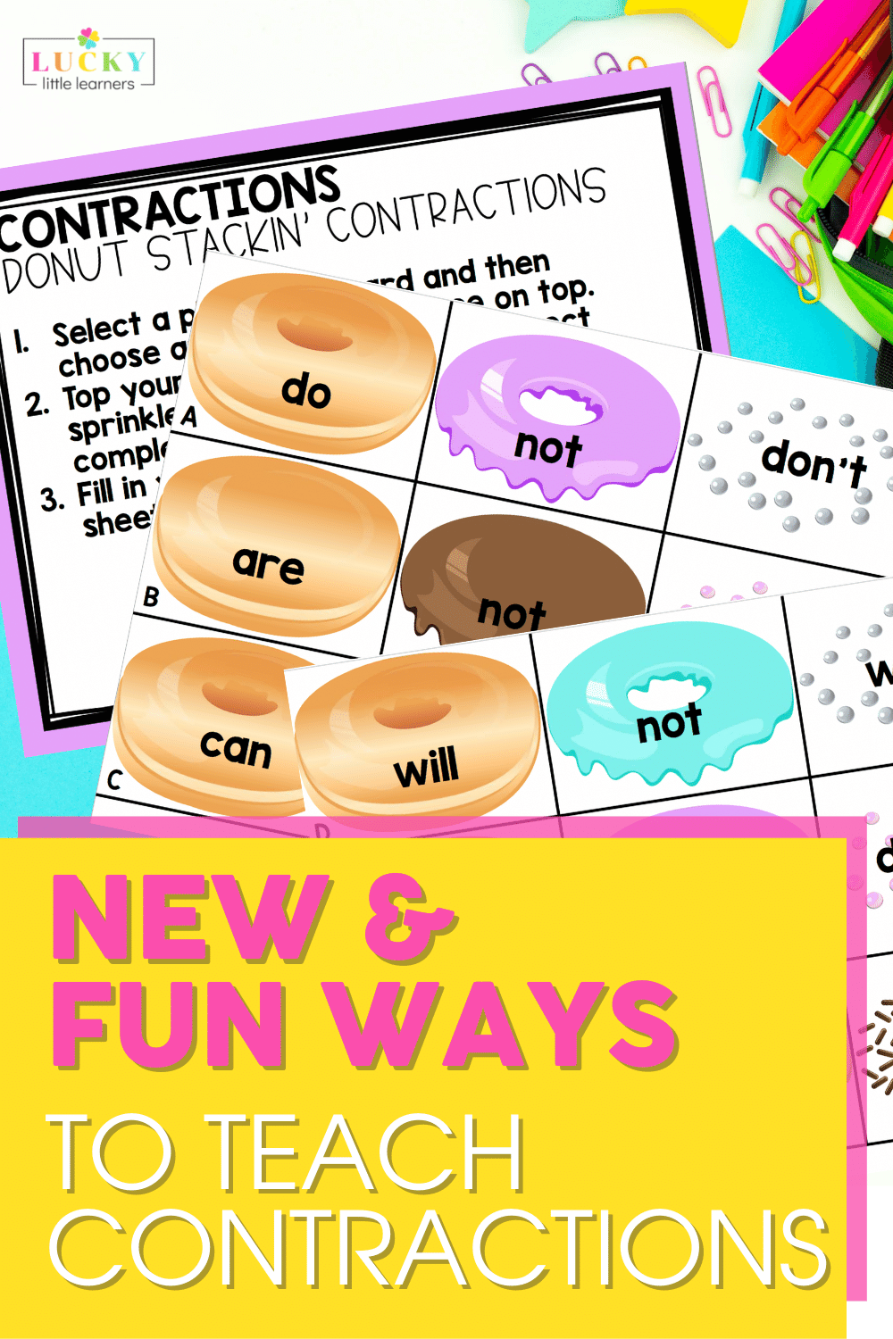 new and fun ways to teach contractions