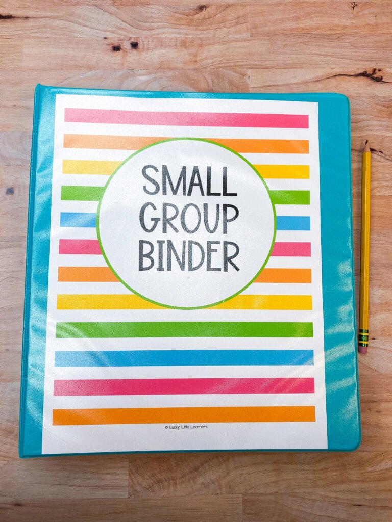 free small group planning tools