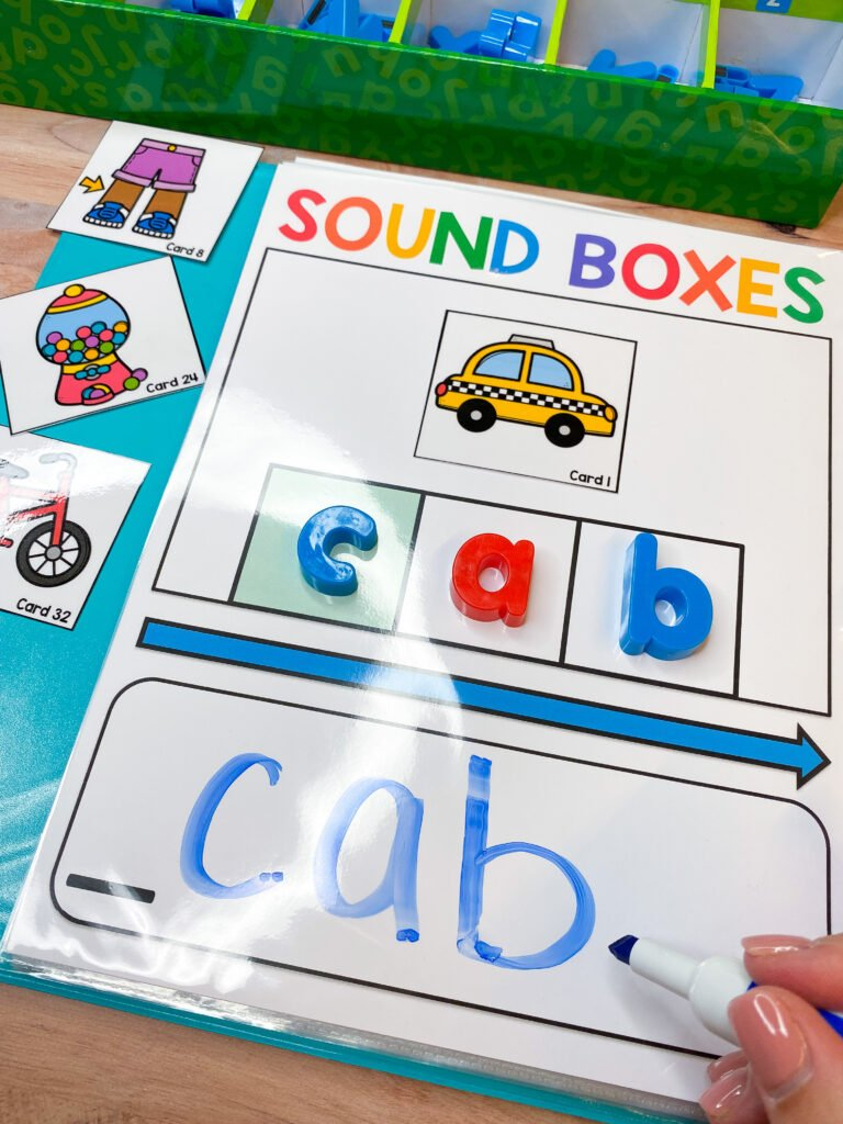 sound boxes for phonemic awareness review