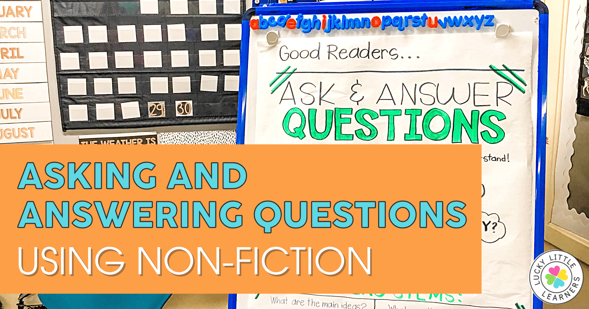 Asking and Answering Questions Using Nonfiction