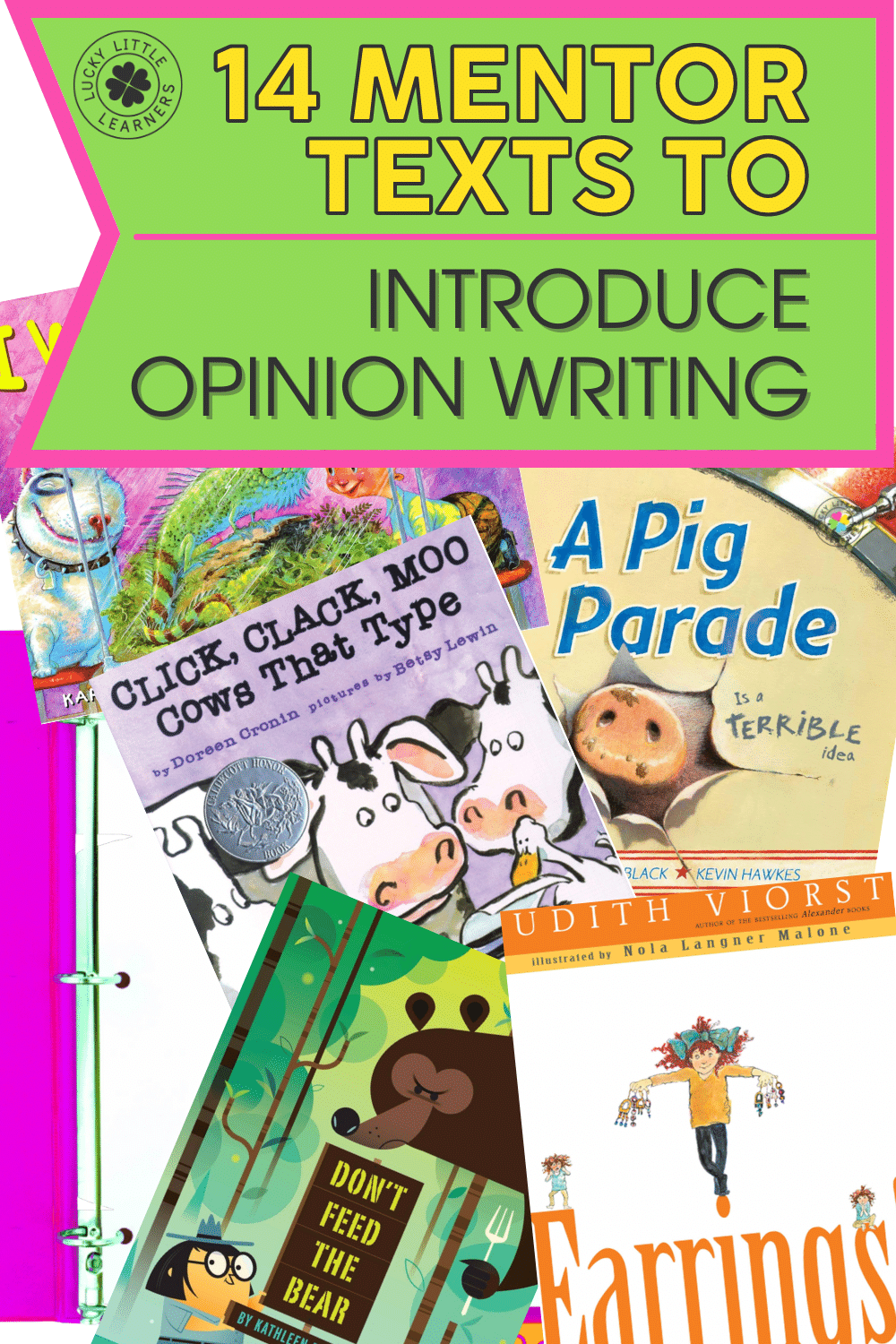 14 Mentor Texts to Introduce Opinion Writing to Young Learners