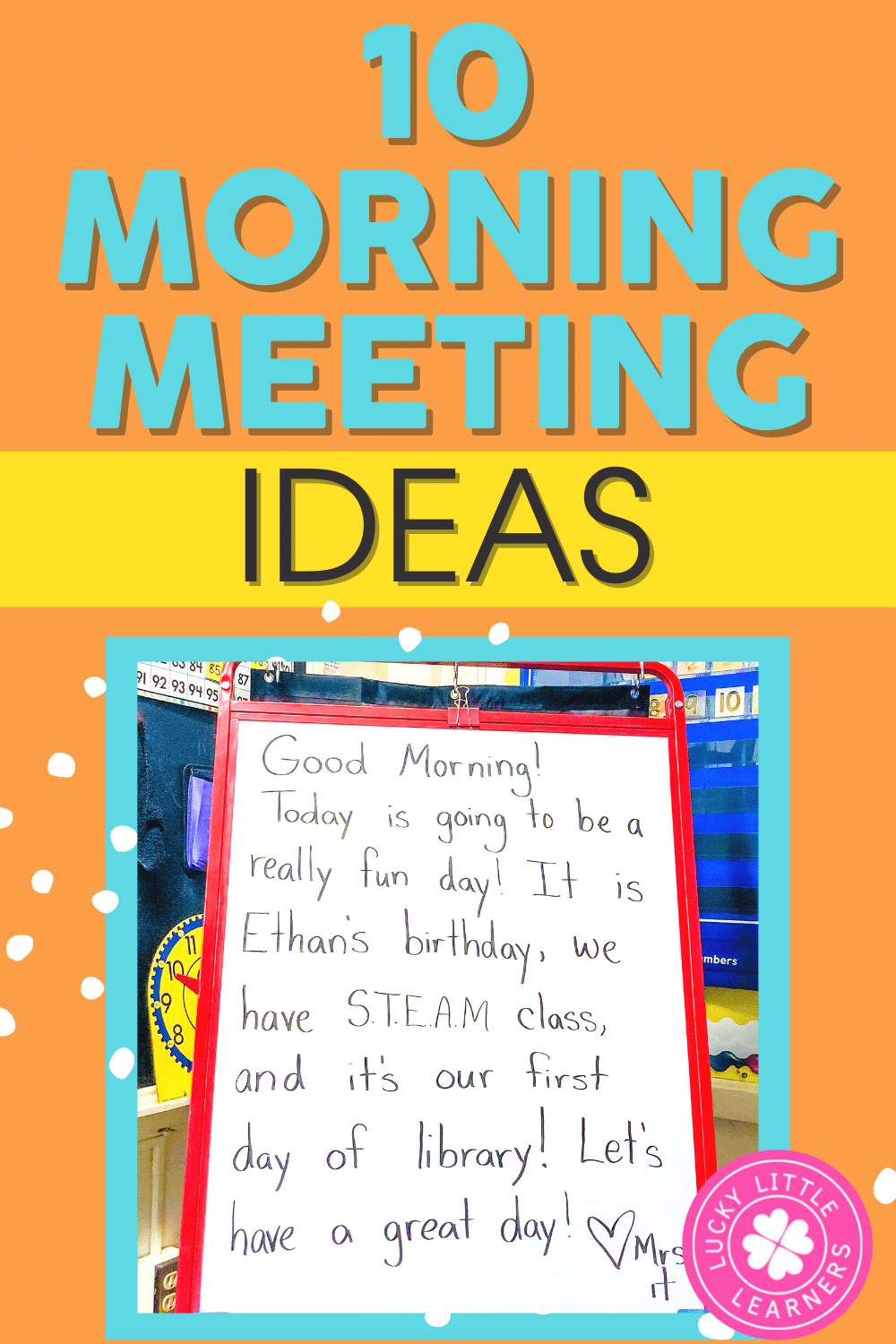 10 Morning Message Ideas for the Classroom