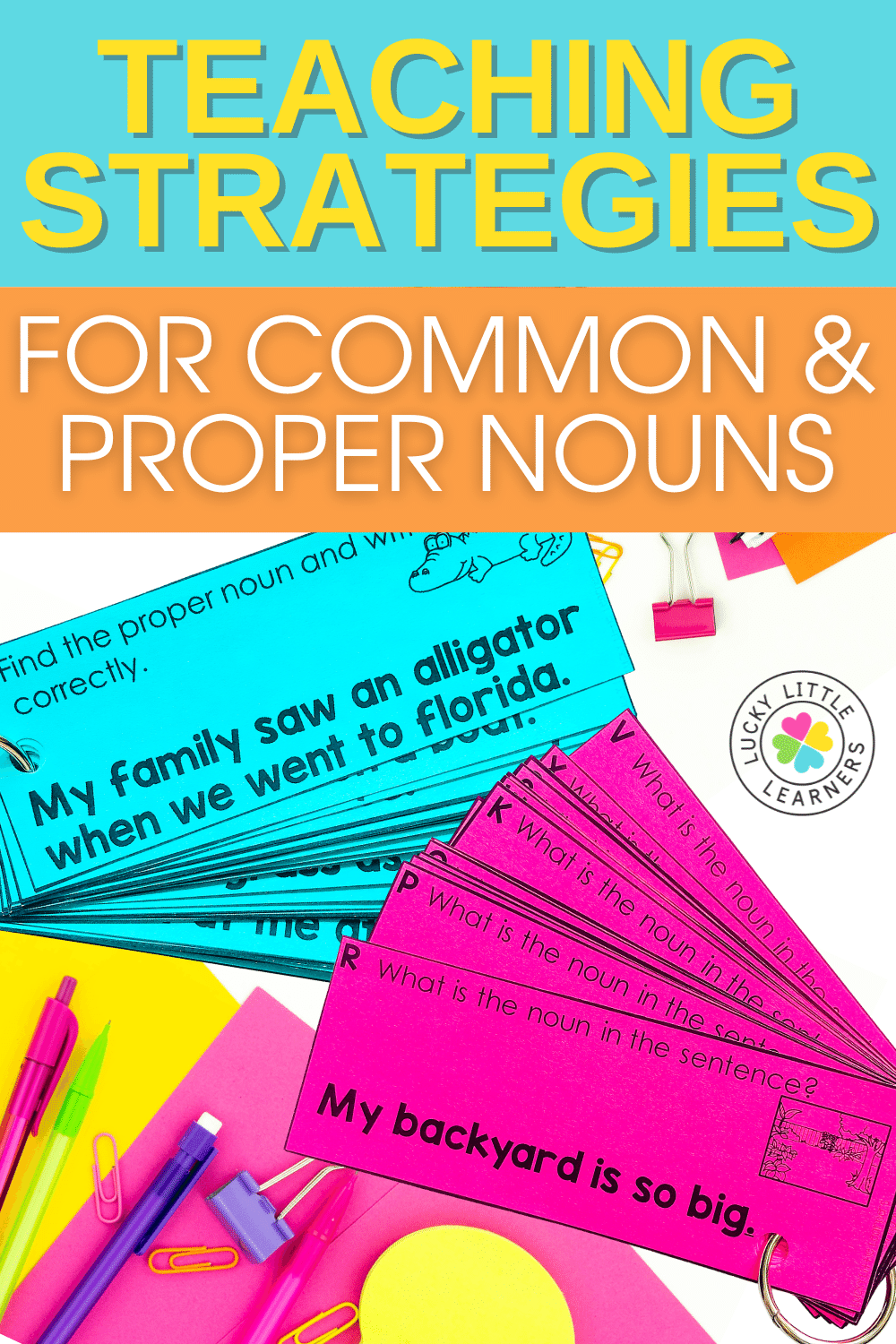 strategies for teaching common and proper nouns
