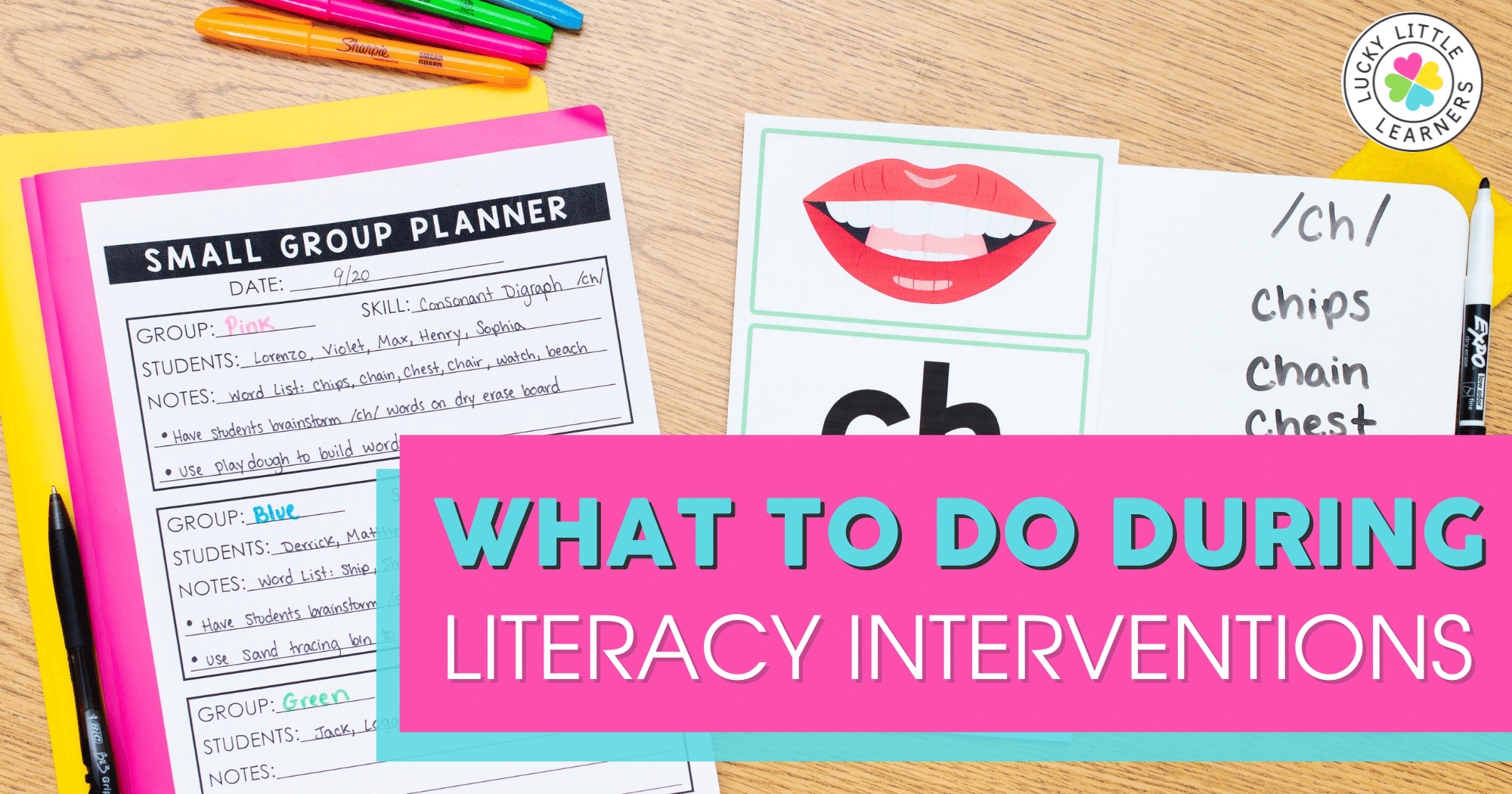 What to Do During Literacy Interventions