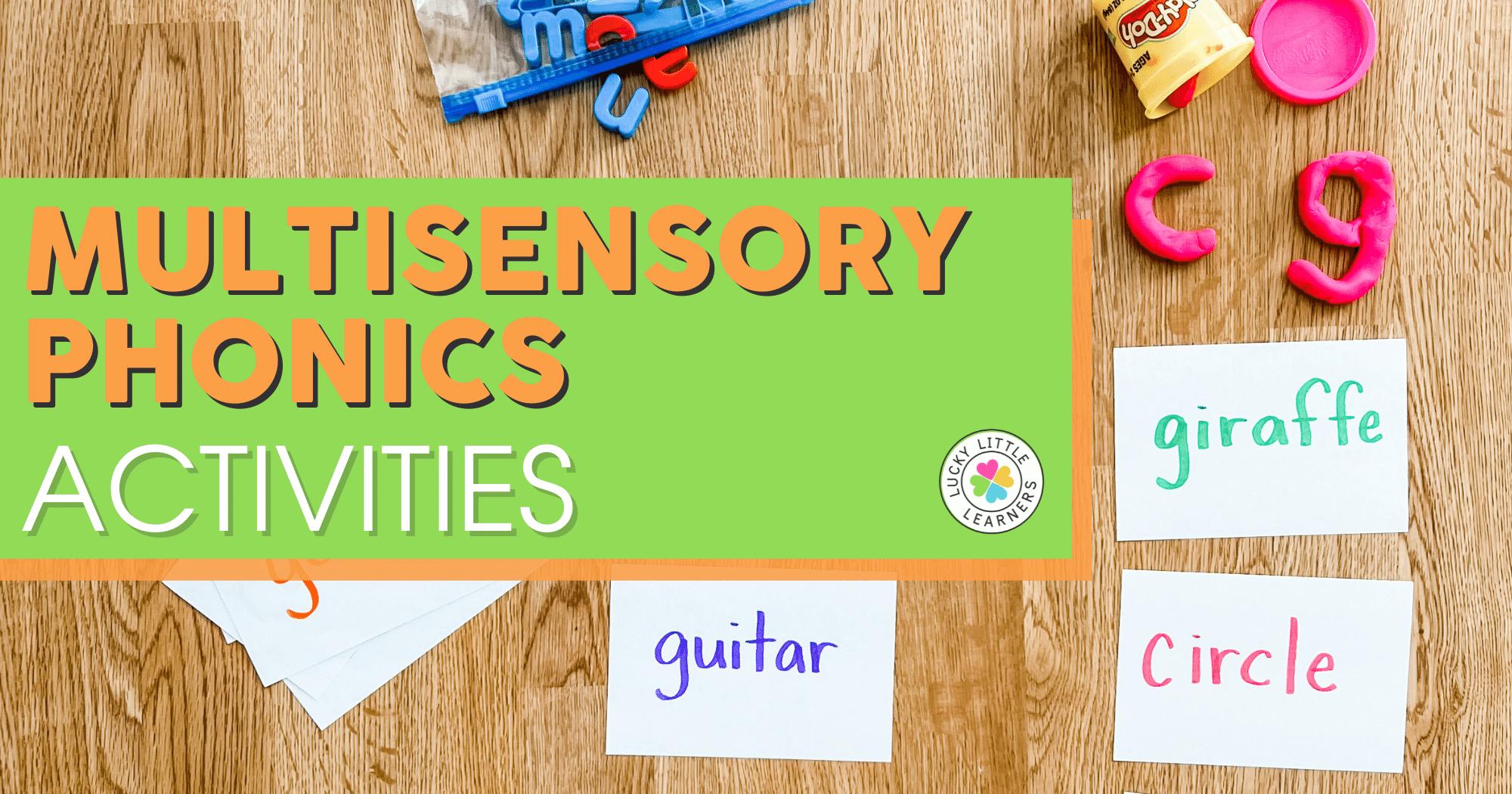 Multisensory Phonics Activities