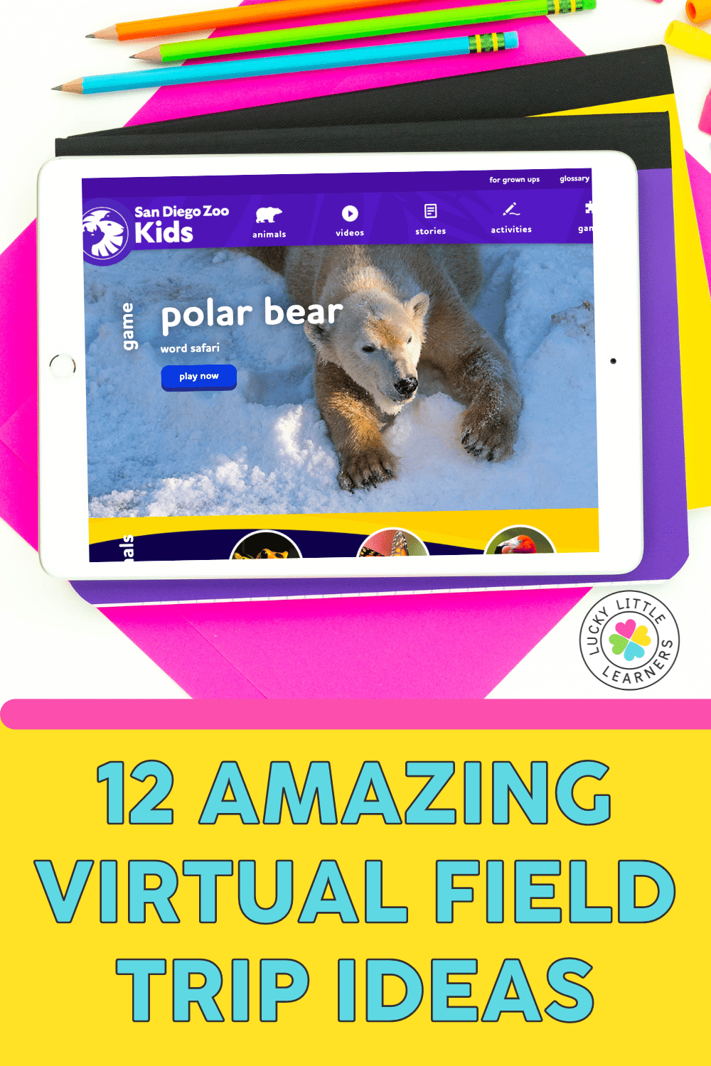 Who says you actually have to leave the classroom to have an amazing field trip experience? The world is at your fingertips with these fun, engaging, and FREE virtual field trip ideas. Dive under the sea, blast off into outer space, and get WILD with animals with just a click.