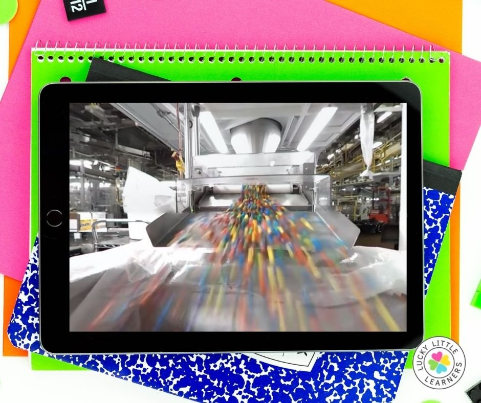 M and M factory virtual field trip experience