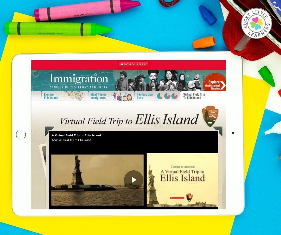 bring american history to life with a virtual field trip to ellis island